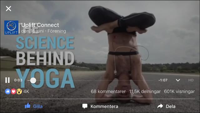 Yoga forskning